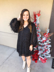 Out on the Town Dress - Olive Vines Boutique