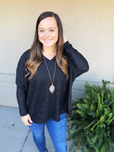 Load image into Gallery viewer, Girl Talk Sweater Top - Olive Vines Boutique