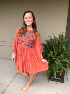 Sweet & Steady Dress - Olive Vines Boutique