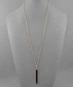 Snake Bar Necklace - Olive Vines Boutique