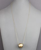 Matte Ball Necklace - Olive Vines Boutique