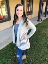 Load image into Gallery viewer, Cozy Tie Dye Cardigan - Olive Vines Boutique