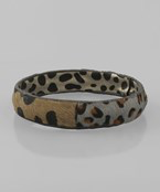 Leopard & Cheetah Bangle Bracelet - Olive Vines Boutique