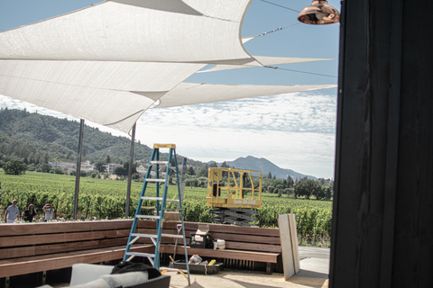 Installation for the Hill Family Winery by Lee Display