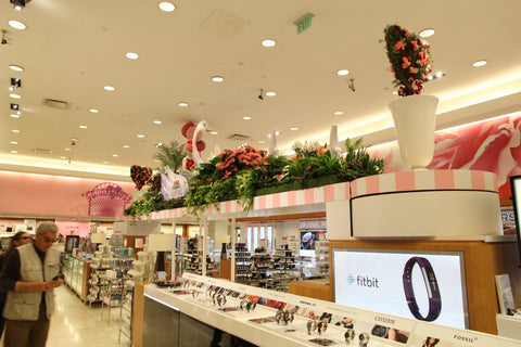 Macy's Union Square San Francisco Flower Show Store Merchandising by Lee Display