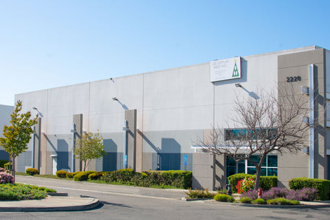 Lee Display Company Location Bay Area California Warehouse Storage Services Landing Page Link from Services Page