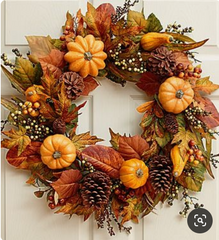Fall Season decorating tips and ideas from Lee Display with Orange, Yellow, Brown, and Red Colors