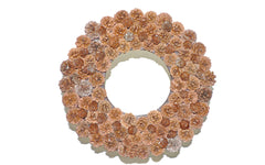 Pine Cone Wreath Lee Display Fall Season Decorating Tips