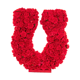 Rose Horseshoe from Lee Display's Valentine's Day Decoration Tips and Ideas