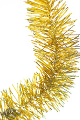 Brand new Shiny Gold Tinsel Garlands sold at 25ft lengths