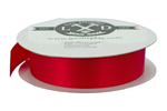 1 Roll of Lee Display's Red Christmas Ribbon 1in Width 50 Yard Length