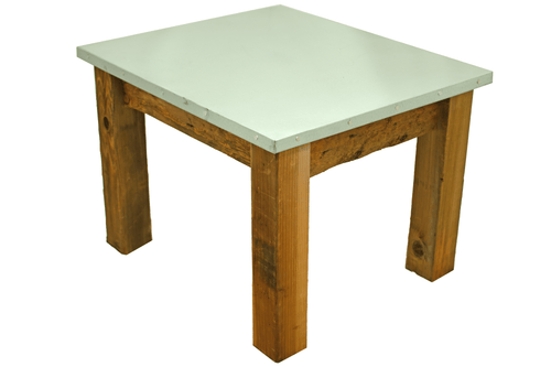Lee Display's Redwood Patio End Table & Outdoor Coffee Table   Built by Lee Display & Made in the USA!
