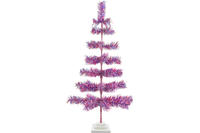 36in Red White and Blue 4th of July Christmas Tree made and sold by Lee Display