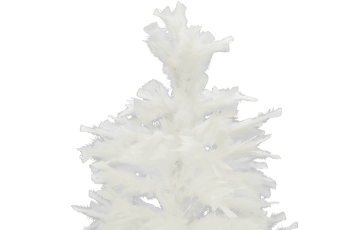 Top of the White Goose Feather Christmas Tree from Lee Display