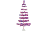 48in Red White and Blue 4th of July Christmas Tree made and sold by Lee Display