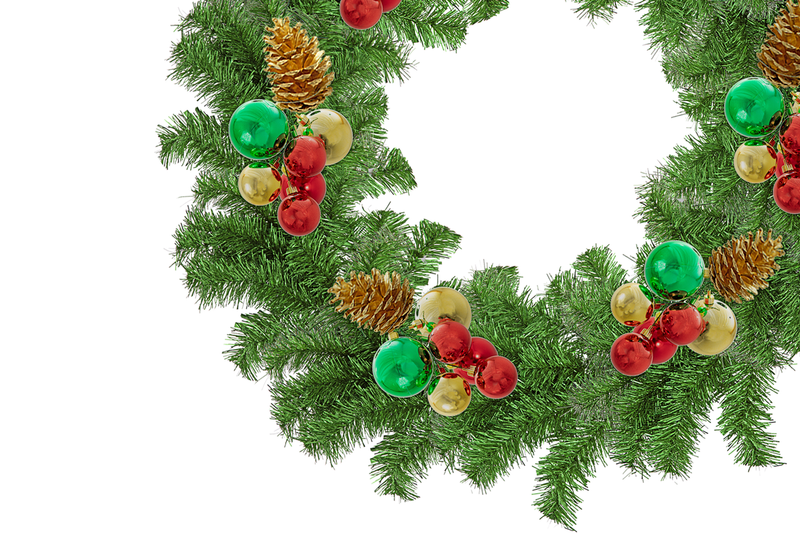 Evergreen Classic Christmas Wreaths