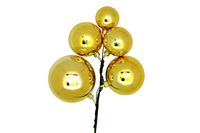 Shiny Gold Ball Cluster