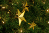Gold Star Picks Decorations on Christmas Tree Sold by Lee Display 4