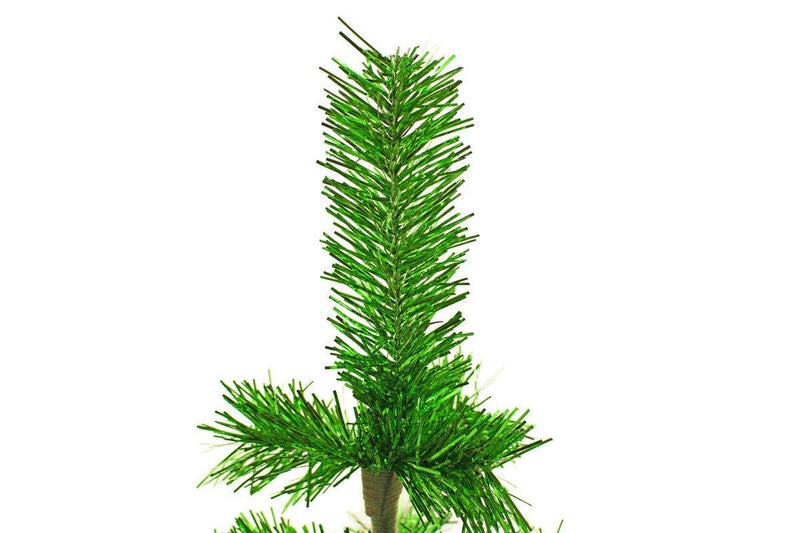 Metallic Green Christmas Tree