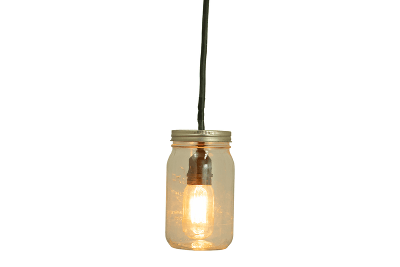 Light Bulb Included with your purchase:  1 - Vintage Edison Light Bulb (S14 E27 Medium Base Socket Brass Screw-In, 7-Watt Incandescent Warm White Lighting.