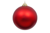 Matte Red Ball Ornament