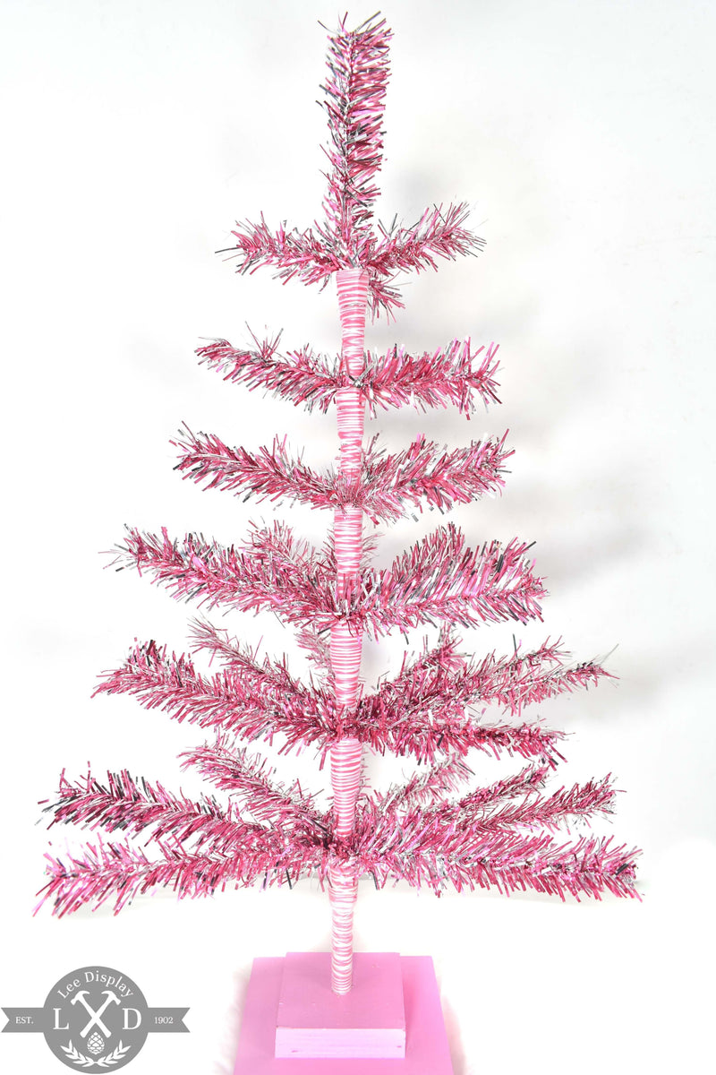 Pink & Silver Christmas Tree