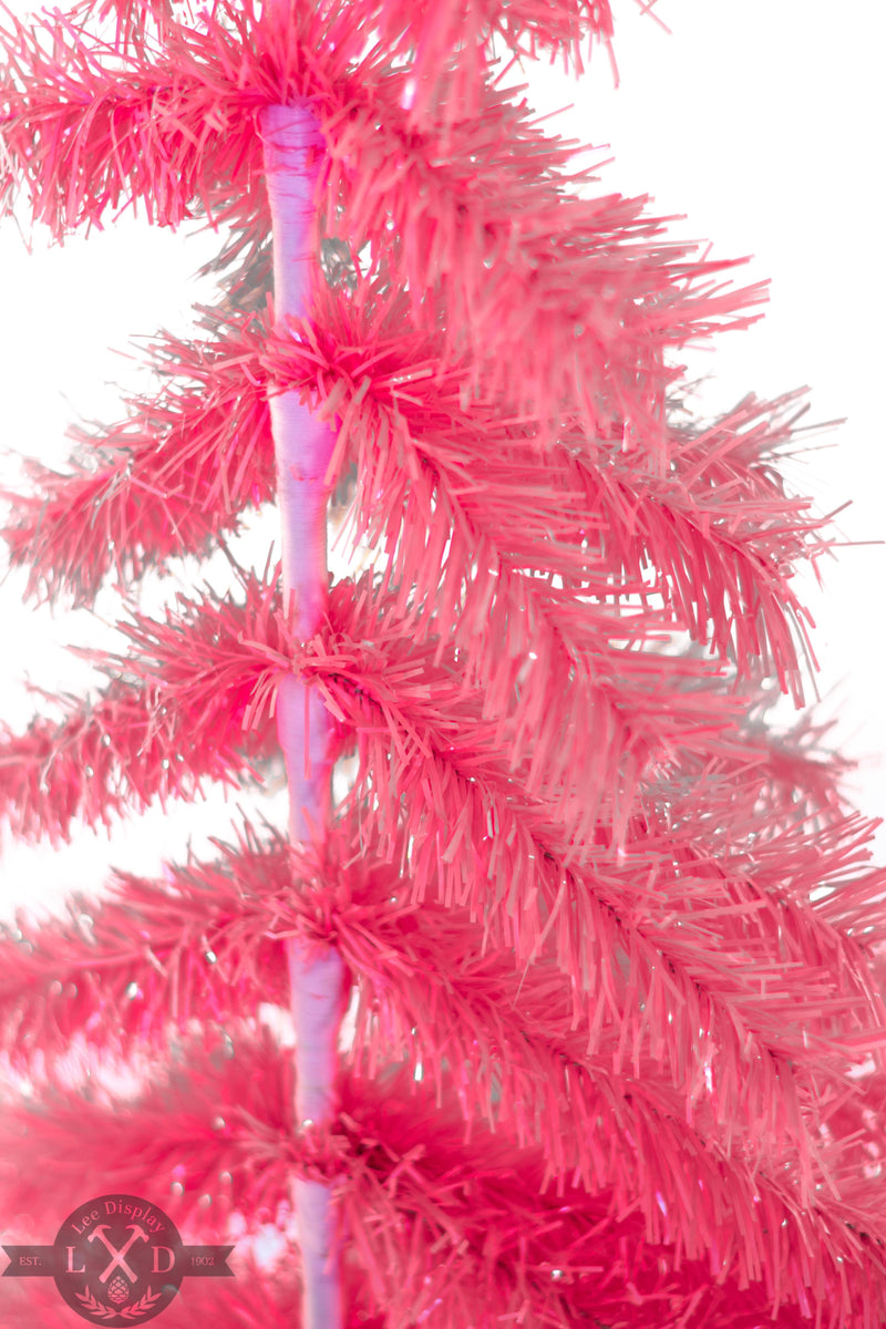 Pink Wall Hanging Christmas Tree