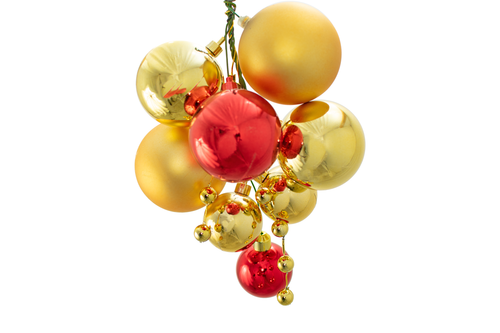 The Santa Cruz Ball Cluster with Gold Berries