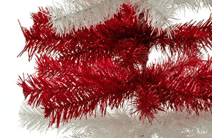 Dr. Seuss Inspired Red & White Christmas Trees on Sale by Lee Display