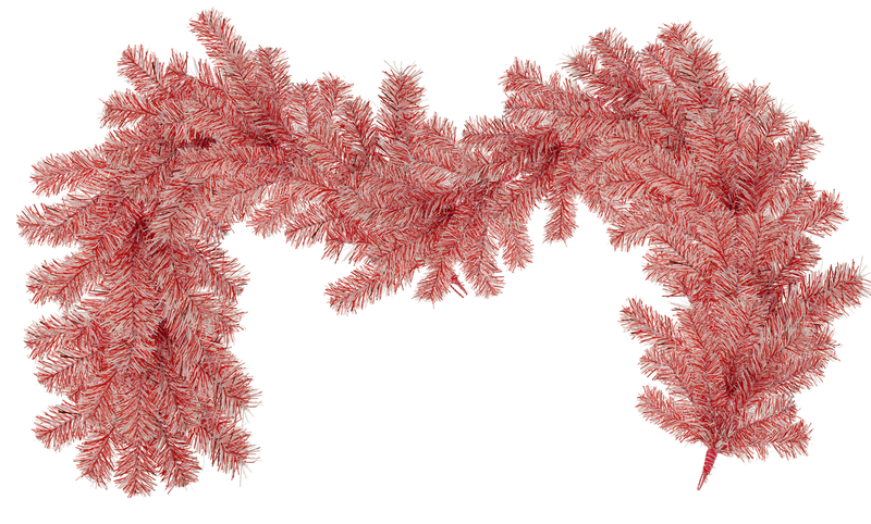 Brand New Red & White colored Tinsel Garland for your Valentine's Day celebrations and birthday parties! Hang the garland in your homes and use as Valentine's Day decorations. Make tinsel brush part of your store's merchandising displays.