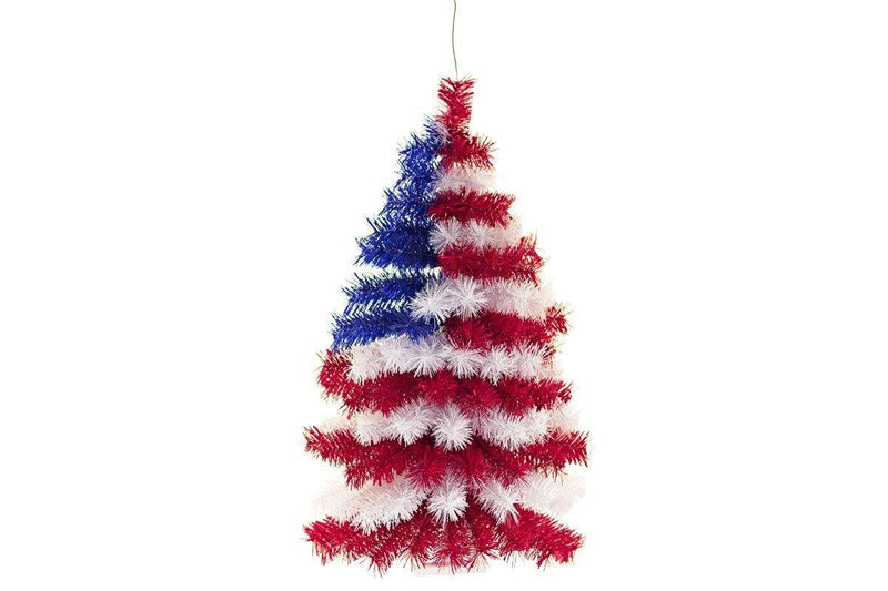 4th of July Wall Tree
