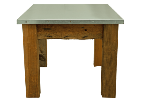 Lee Display's Redwood Patio End Table and Outdoor Coffee Table now on Sale