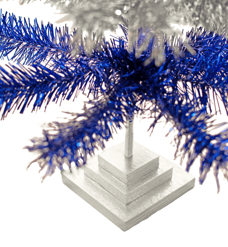 Lions Tinsel Christmas Tree