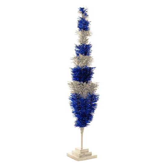 Colts Tinsel Christmas Tree