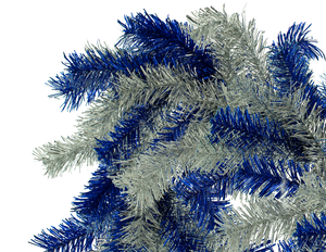 Blue & Silver Christmas Garland