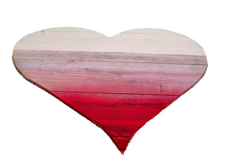Wood Valentine's Day Heart