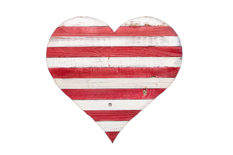 Stripped Valentine's Day Heart