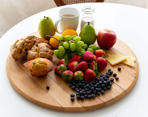 Wine Barrel Cutting Board