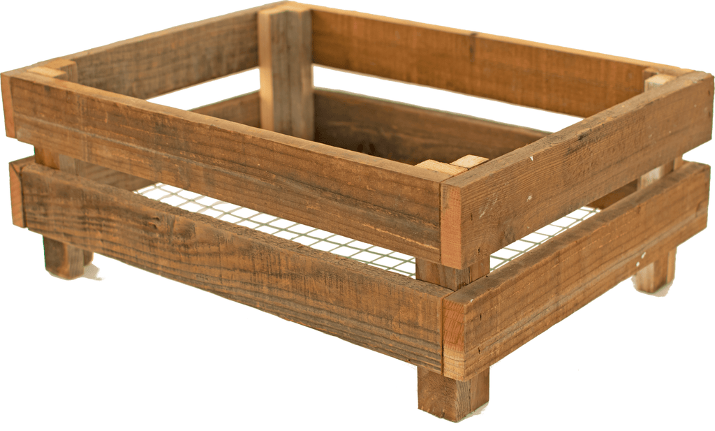 Organic Redwood Planter Crates