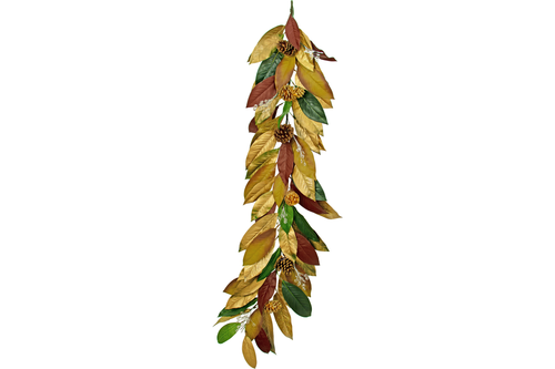 Lee Display Garland Magnolia Leaf & Pine Cone Garland