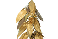 Gold Magnolia Leaf Garland
