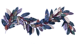 Lee Display Garland Magnolia Leaf Christmas Garland