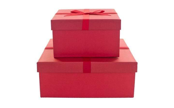 Lee Display Gift Box Red Christmas Gift Boxes