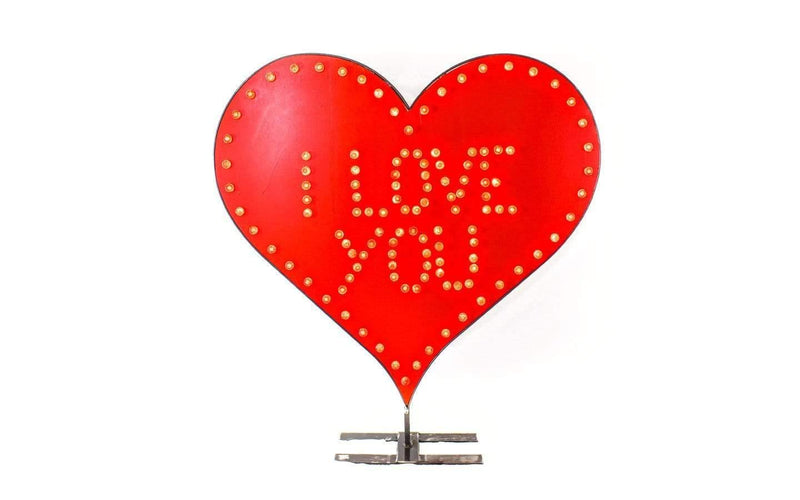 Lee Display Heart LED Valentine's Day Heart