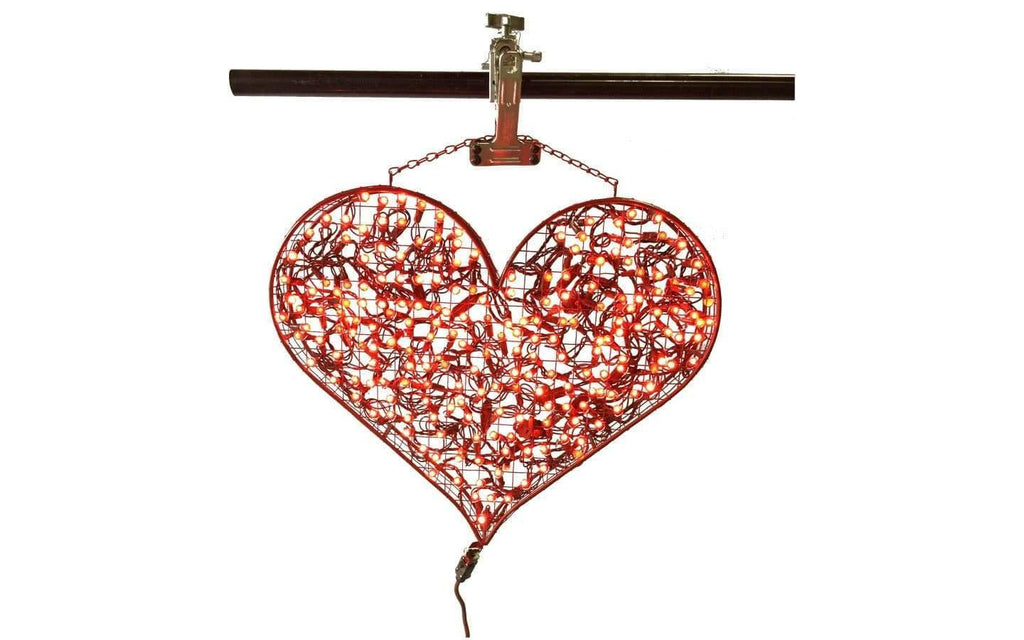 Lee Display Heart Valentine's Day Hanging Red Heart