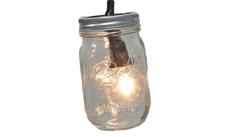 Lee Display Lights Mason Jar Pendant Lights