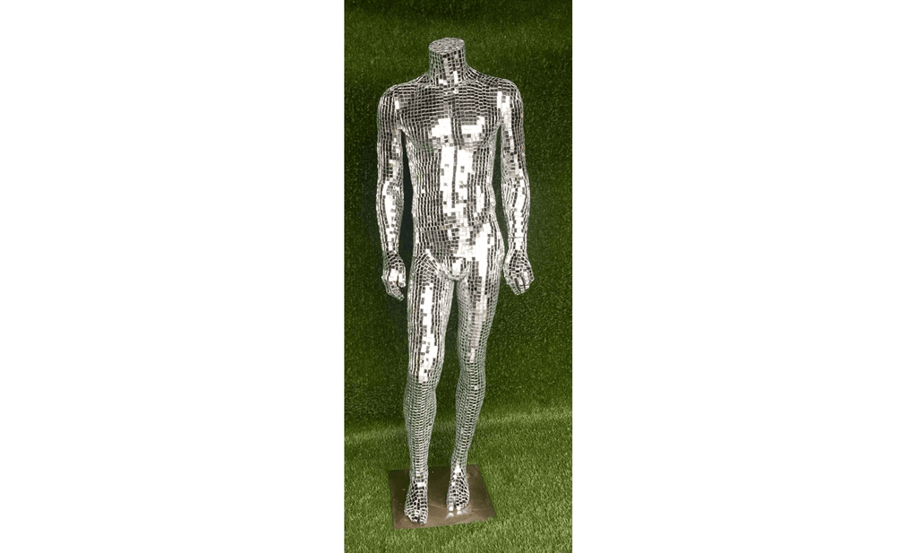 Lee Display Mannequin Mirror Covered Mannequin