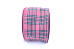 Lee Display Ribbon Red Plaid Ribbon