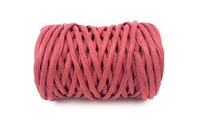 Lee Display Ribbon Red Raffia Paper Twine