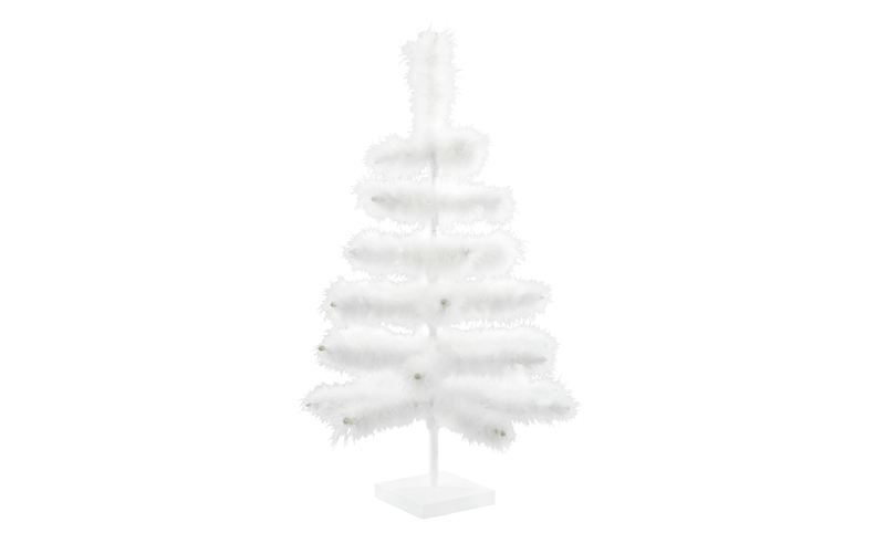 Lee Display Tree 2FT Real Goose Feather Trees